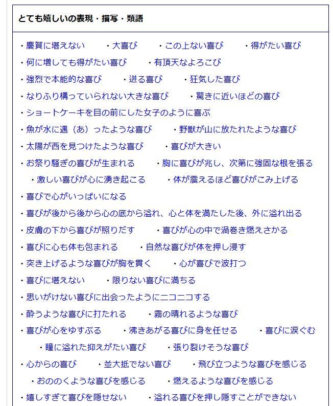 日本語表現
